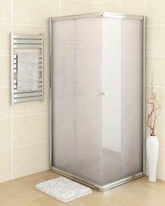 parete sopravasca box doccia cristallo serigrafato h140x130 ... - Arredo Bagno Box Doccia