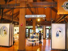 Cherry Tree Lane at the Marketplace Co-Op in Downtown Disney; Orlando, Florida January, 2015