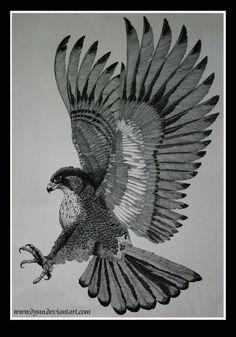 30 Dramatic Hawk Tattoos Ideas for Men and Women Tattoo Bicep, Phönix Tattoo, Body Art Tattoos, Sleeve Tattoos, Falke Tattoo, Adler Tattoo, Eagle Drawing, Tattoo Designs, Posca Art