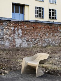 Hemp chair, Werner Aisslinger