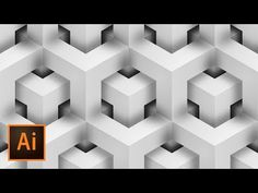 Create Vector GEOMETRIC Background Illustrator Tutorial - YouTube