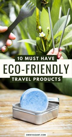 Read here about the 10 absolute must have eco-friendly travel products for the responsible traveler! Sustainable Travel | Responsible Travel | Eco-Friendly Travel | Travel Green | Eco- Friendly Products | Travel | Travel Tips | Travel Packing | Travel Must Haves!