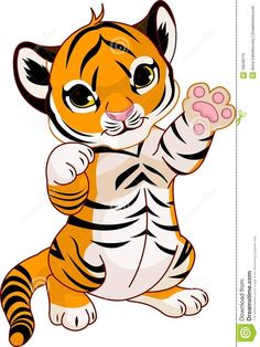 Cute Anime Tiger Tattoo on pinterest tiger tattoo tigers and chinese ...