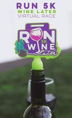If you wine and running, this virtual race is for you! Join in on the fun - you won't want to miss this!