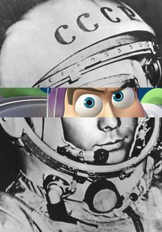 Buzz + gagarine  http://www.grapheine.com/divers/photomontages-celebritoons