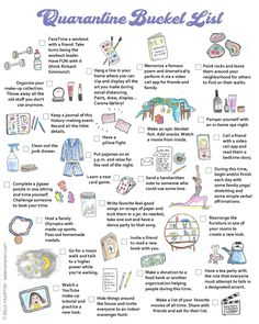 Things to do during quarantine Things To Do When Bored, Things To Do At Home, When Im Bored, Stuff To Do, Bullet Journal Ideas Pages, Bullet Journal Inspiration, Self Care Activities, Fun Activities, Bored Jar