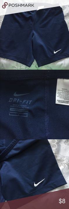 Nike dry fit workout shorts Navy Nike dry fit workout shorts size large Nike Other