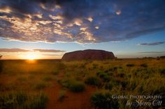 A jaw dropping sunrise at Uluru in Australia Northern Territory.  The largest monolith in the world and Unesco world heritage site. #uluru #UNESCO