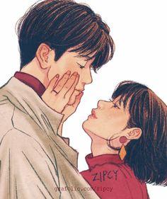 10번째 이미지 Cute Couple Drawings, Cute Couple Art, Anime Love Couple, Love Drawings, Cute Couples, Hipster Drawings, People Drawings, Drawing People, Easy Drawings