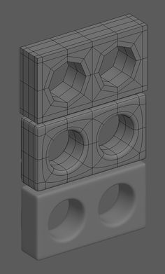 How The F*#% Do I Model This? - Reply for help with specific shapes - (Post attempt before asking) - Page 145 — polycount