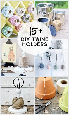 Over 15 DIY Twine Ho