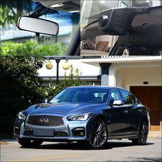 For Infiniti Q50L APP Control Car Wifi DVR Car Driving Video Recorder hidden installation dash cam car black box