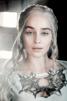 Entertainment Weekly Promotional Photos of Emilia Clarke as Daenerys Targaryen