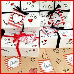 Dias dos Namorados. Caixa Mini Bolacha!❤️