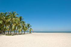 Playa de Irotama en Santa Marta, Colombia