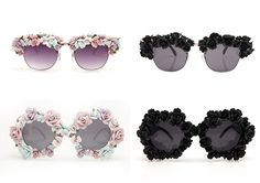 Dica - DIY Óculos Florido - Salada de Croqui