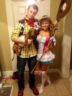 Total Frat Move | (Halloween 2013) Little Bo Peep may have lost her sheep, but she found Woody and Slinky Dog