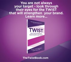 TWIST in your customer's shoes to create a stronger brand and deeper connection. TheTwistBook.com Find Name, How To Apply, How To Get, Embossed Cards, Word Of Mouth, Brand Story, Brand Ambassador, Of Brand, Lust