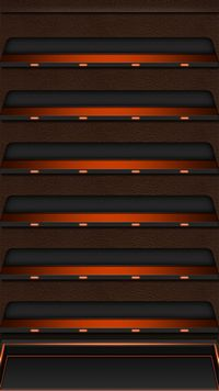 iPhone 6 Plus wallpapers Neon Red Shelf
