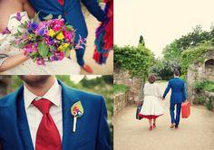 Scotney Castle 50s Wedding Styled Shoot by Rebecca Douglas Photography - flowers by Joanne Truby Floral Design