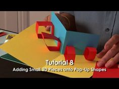 Spirals are a fun and simple form of pop-up. They are not a rigid shape, and are not used to raise other structures, but an excellent and very easy way of ad...