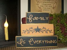 Custom Primitive Family Is Everything Wood Sign by BusyMamasPlace