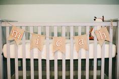 Name on crib