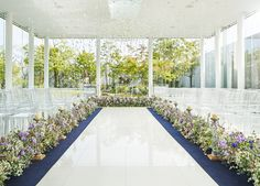#novarese#vressetrose#wedding #purple#chapel #Flower #Bridal#takasakimonolith#結婚準備 #ノバレーゼ#ブレスエットロゼ #高崎モノリス#ウェディング #パープル# チャペル#ナチュラル  # ブライダル#教会#バージンロード#挙式