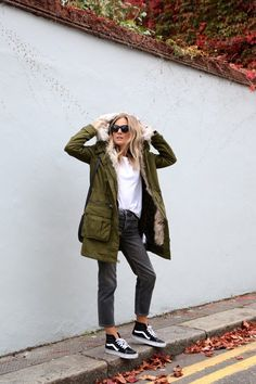 88a44aea84 Lucy Williams shows us how to wear the Parka trend