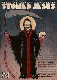 """Stoned Jesus - Reseña de su nuevo álbum    """"The Harvest"""""""