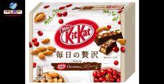 Novo chocolate de luxo da Kit Kat no Japão!