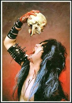 Blackie Lawless Metal Bands, Rock Bands, Rock Music, New Music, Heavy Rock, 80s Rock, Nikki Sixx, Thrash Metal, Music Icon