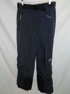 EMS Eastern Mountain Sports Snowboard Ski insulated pants black Mens S INV#409 #EMS