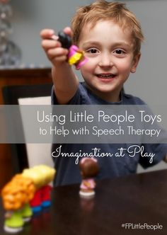 Using LIttle People to Help with Speech Therapy