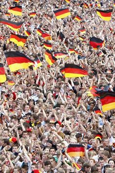 I dream one day I can go to the stadium & watch the game & shout with all Germany's soccer fans.