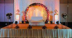Wedding Reception Decor at Crowne Plaza Kochi