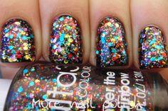 More Nail Polish: Ulta3 new 2012 glitter collection
