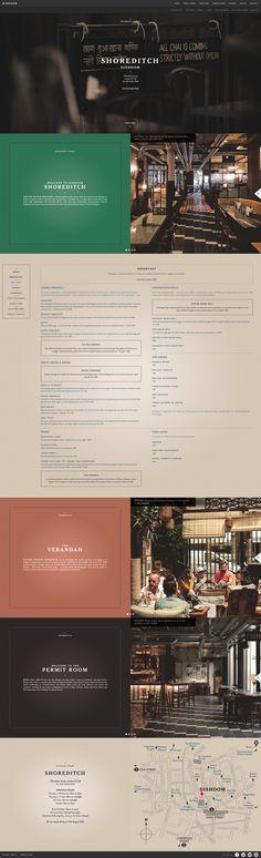 Dishoom // responsive site design / restaurant / food and drink