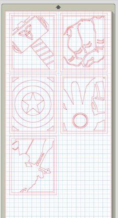Avenger Cameo Silhouette File by LivinOnSunnyside on Etsy, $10.00