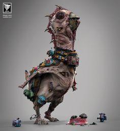 cocohell, Diego Sain on ArtStation at https://www.artstation.com/artwork/gR60K