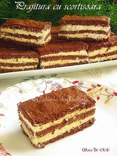 Cake with cinnamon ~ Culorile din farfurie Romanian Desserts, Romanian Food, I Foods, Eat Cake, Cinnamon, Sweet Treats, Deserts, Dessert Recipes, Food And Drink