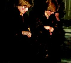Lady Diana Spencer with her sister Jane