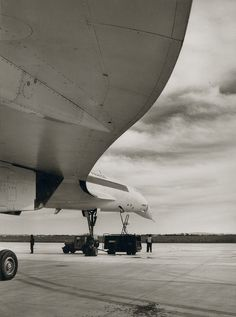 Voilure du Concorde 1968 - Jean Dieuzaide