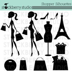 Shopper Silhouettes