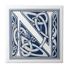 Celtic N Monogram
