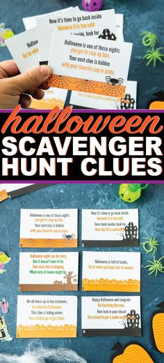 Fun Halloween Activities, Halloween Scavenger Hunt, Scavenger Hunt For Kids, Activities For Teens, Halloween Party Games, Games For Teens, Halloween Crafts For Kids, Holidays Halloween, Halloween Fun