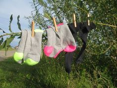 Twitter / StephaniedBonth: #synchroonkijken d.d. ma 1-7-2013: foto van sokken van Stephanie de Bonth