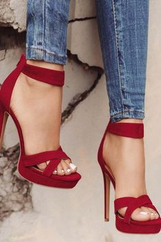 1f248a8d0f2 30 Sassy Red Heels Designs To Make A Fashion Statement