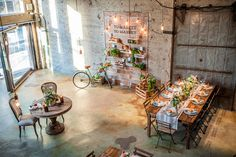 Parisian Industrial Farmer's Market Wedding: Mary Beth + Peter | Green Wedding Shoes Wedding Blog | Wedding Trends for Stylish + Creative Brides