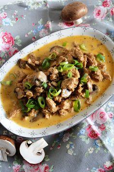 Geschnetzeltes Tofu Soja